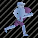 horse, knight, man, person, running