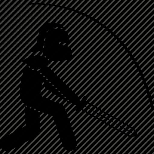 attack, knight, sword icon