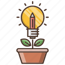 education, growth, idea, investments, knowledge, school icon