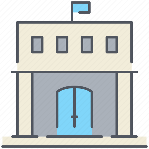 administration, building, college, education, library, school, university icon