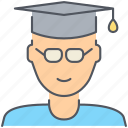 male, student, college, graduation, person, school, university