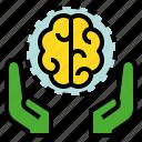 brain, guru, intellectual, intelligent, pundit, sage icon