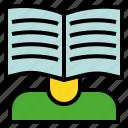 book, expert, guru, pundit, sage, wiki icon