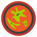 ameba, bacteria, biology, infection, microbes, petri dish, vaccine icon