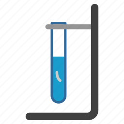 bacteria, experiment, flask, laboratory, research, test, tube icon