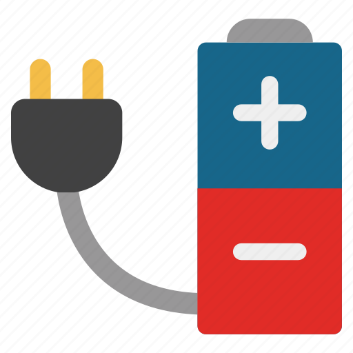 battery, charging, electric, electricity, energy, plug in, power icon
