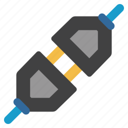 connect, connection, connector, integration, plug in, plugin, socket icon
