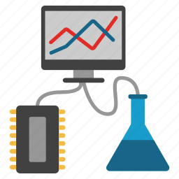 component, electronics, experiment, laboratory, labs, technology, test icon