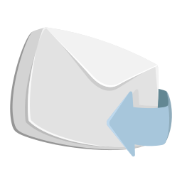 arrow, email, envelope, forward, letter, mail, reply icon