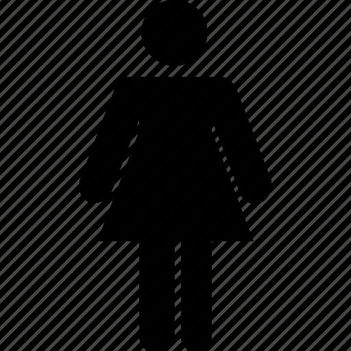 avatar, female, lady, profile, women icon