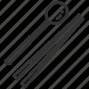 asia, chopsticks, eat, korean, restaurant, spoon, tool icon