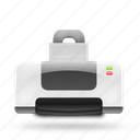 document, paper, printer, printing icon