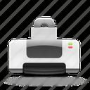 printer, document, paper, printing