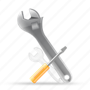 configuration, control, preferences, setting, settings, tool, tools, wrench icon