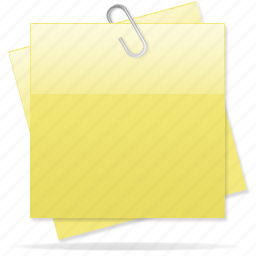 copy, document, documents, note, paper, sticky note, yellow note icon