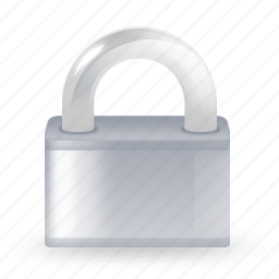 lock, private, protect, protection, safe, secure, security, shield, unlock icon