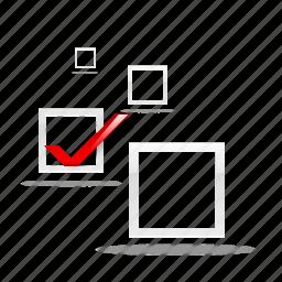 accept, check, good, like, ok, success, tick, vote icon