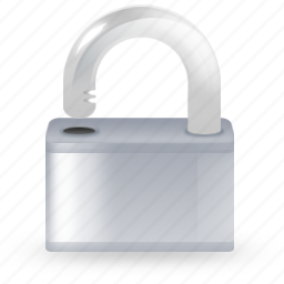locked, private, safe, safety, secure, security, unlock icon