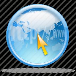 browser, internet, net, network, web icon