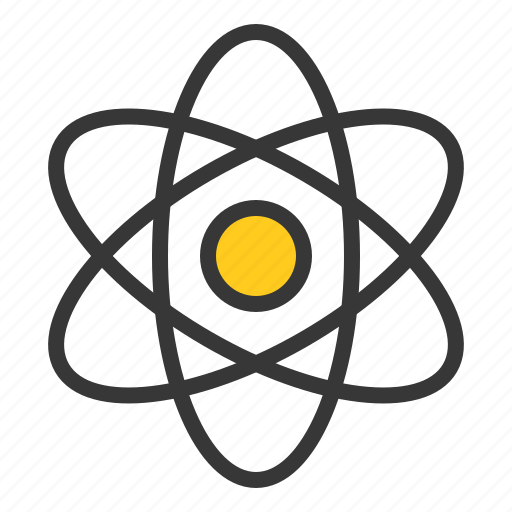 atomic, chemistry, electron, equipment, lab, laboratory, nuclear, science icon