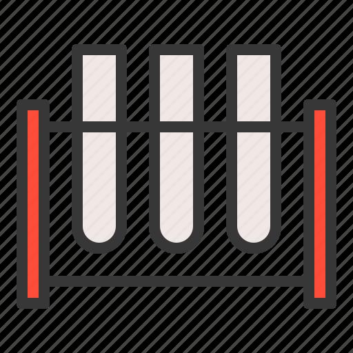 chemistry, equipment, lab, laboratory, science, test tube icon