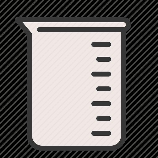 beaker, chemistry, equipment, lab, laboratory, science icon