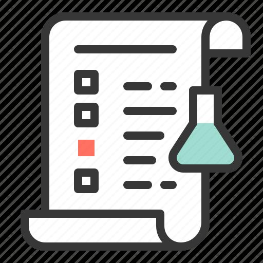 chemistry, equipment, lab, lab analyze, laboratory, reseach, science icon