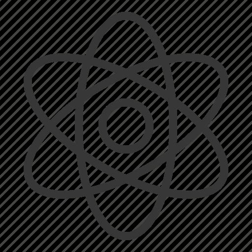 atomic, chemistry, electron, equipment, lab, laboratory, science icon
