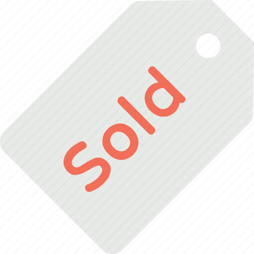 big sale, sold out, sold sticker, sold tag, supplied icon