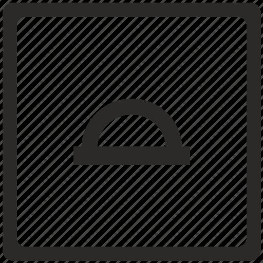 angular, instrument, key, measurement icon