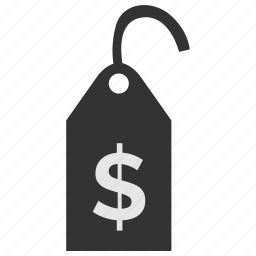 clothes, clothing, dollar, label, price, tag, usd icon