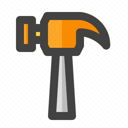 building, construction, hammer, joinery, labor, maintenance, tools icon