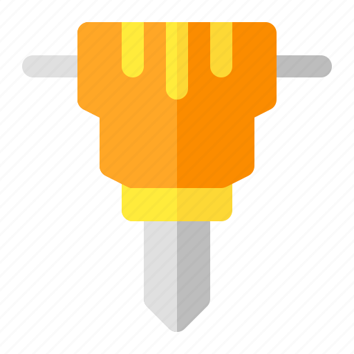building, construction, hammer, jack, labor, tools, work icon