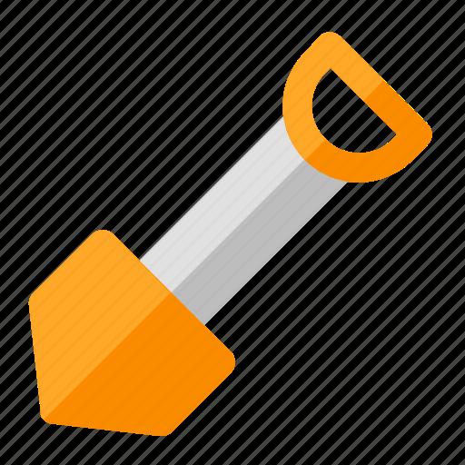 building, construction, gardening, labor, shovel, spade, tool icon