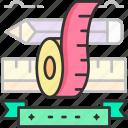 measurement, tape, ruler, measure, tape measure
