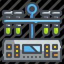 centrifuge, chemistry, education, laboratory, machine, science, test icon