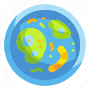 bacteria, bacterium, biology, cell, lab, scientist, virus icon