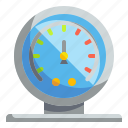barometer, chemistry, lab, miscellaneous, science, semicircular, weather icon