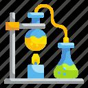 bunsen, burner, chemical, education, flask, lab, science