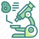 educatio, microscope, observation, science, scientific, tool icon
