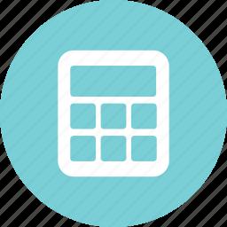 calculate, calculator, math, measure icon