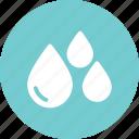 drop, droplets, drops, liquide, water icon