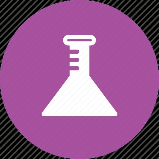 biology, equipment, flask, lab icon