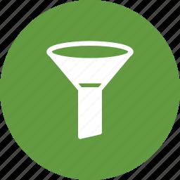 equipment, funnel, hirsh, lab icon