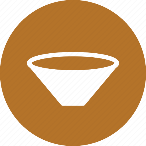 biology, filter, funnel, lab, stemless icon