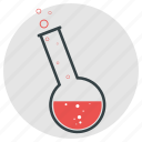 beaker, chemical, equipment, flask, fluid, laboratory, measurements icon