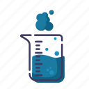flask, laboratory, research, science icon