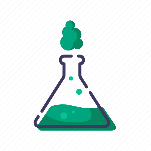 flask, lab, laboratory, science icon