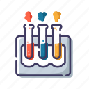 biology, laboratory, science, test tube icon