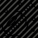 measuring, scale, tape icon